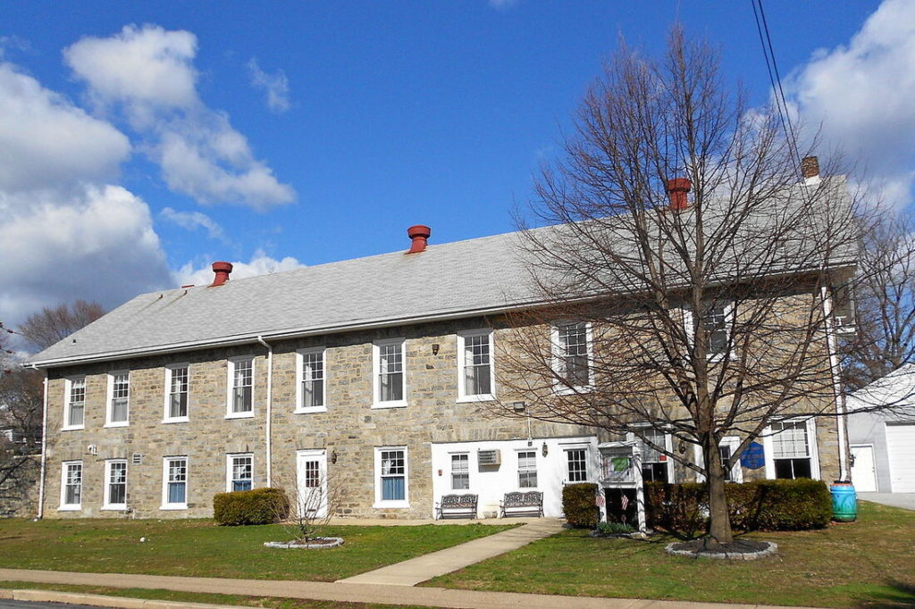 A Picture Of The Rutledge Borough Hall Taken by Delaware County Fencing