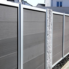 A Picture Of A High End Privacy Fence Installed By Delco Fencing