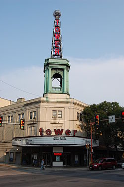 A Picture Taken By Delco Fencing Of Tower Theater In Upper Darby Pa.