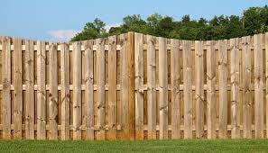 Picture Of A Wooden Fence Installed For Delco Fencing In Broomall PA